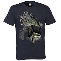 Men's Bass Trio Fishing Tee