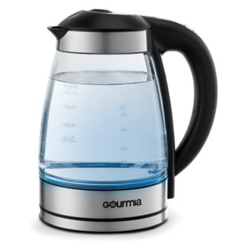 Gourmia Programmable Electric Tea Kettle with Cordless Base