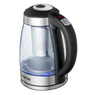 Gourmia Programmable Electric Tea Kettle with Cordless Base