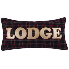 Levtex Lodge ''Lodge'' Plaid Oblong Throw Pillow