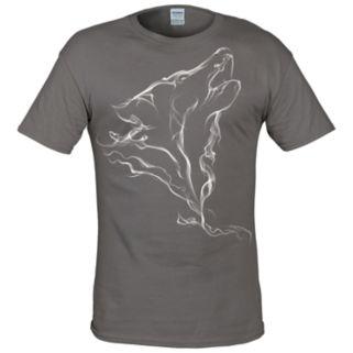 Big & Tall Lost Creek Wolf Tee