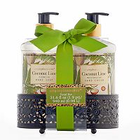 Simple Pleasures Coconut Lime 2-pc. Bath Caddy