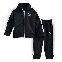 Baby Boy PUMA Logo Hoodie & Pants Set