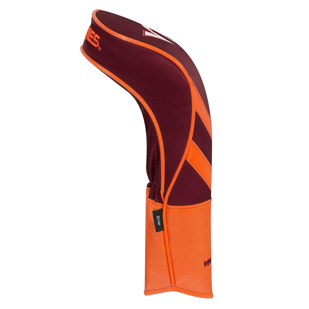 Team Effort Virginia Tech Hokies Stripes Driver Headcover