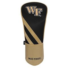 Team Effort Wake Forest Demon Deacons Stripes Driver Headcover