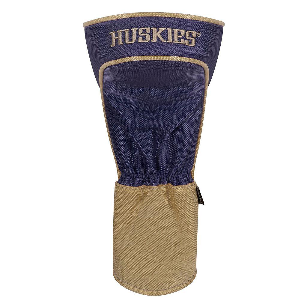 Team Effort Washington Huskies Stripes Driver Headcover