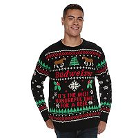 Men's Budweiser Ugly Christmas Sweater