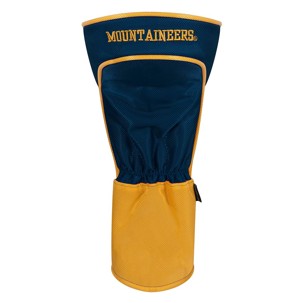 Team Effort West Virginia Mountaineers Stripes Driver Headcover