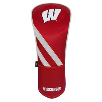 Team Effort Wisconsin Badgers Stripes Driver Headcover