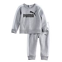 Baby Boy PUMA 2-pc. Sweatshirt & Pants Set