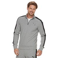 Men's PUMA StretchLite Slim-Fit Performance Quarter-Zip Pullover
