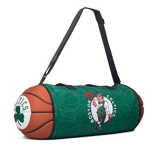 ba4de2856c Boston Celtics Basketball to Duffel Bag