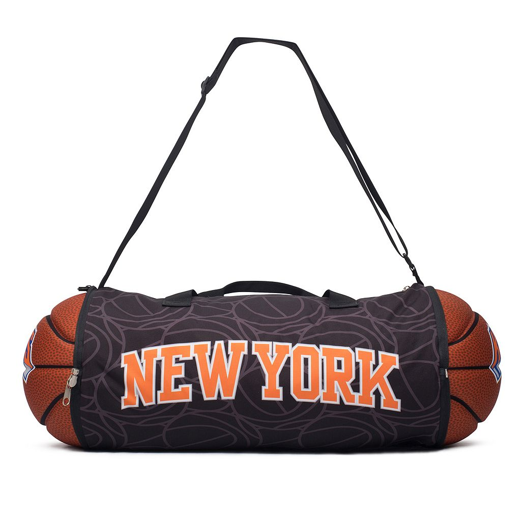 New York Knicks Basketball to Duffel Bag