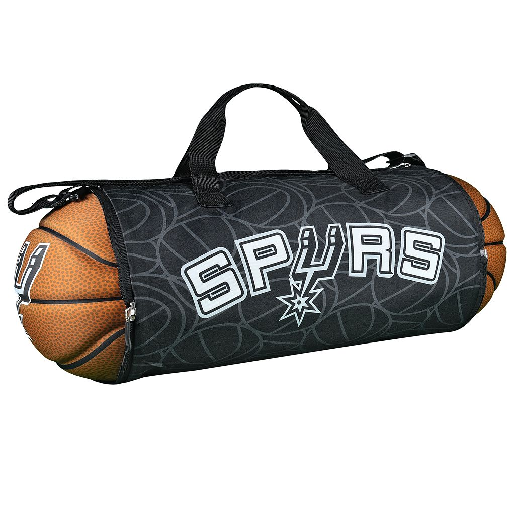 San Antonio Spurs Basketball to Duffel Bag