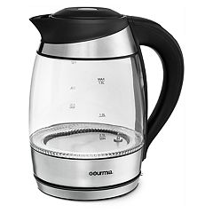 Gourmia Color Changing LED Electric Tea Kettle