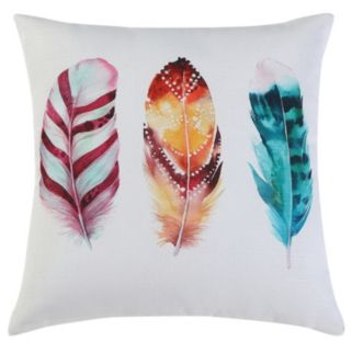 VCNY Feathers Throw Pillow