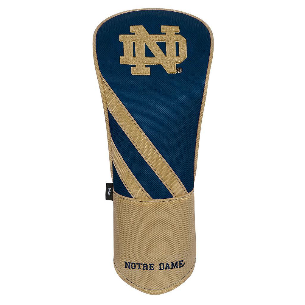 Team Effort Notre Dame Fighting Irish Stripes Driver Headcover