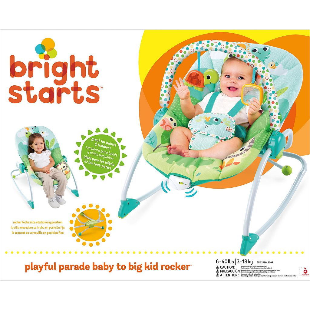 Bright Starts Playful Parade Baby to Big Kid Rocker