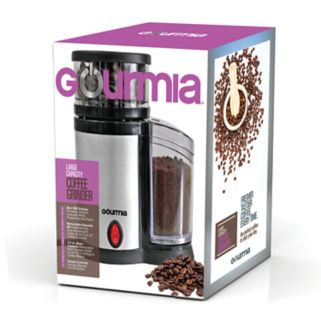 Gourmia Electronic Burr Coffee Grinder