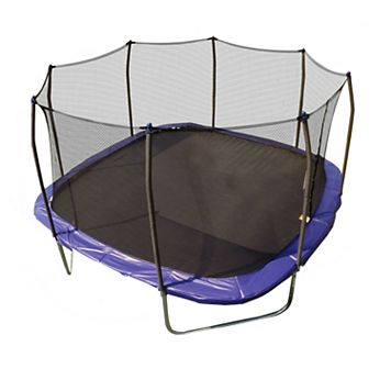 Skywalker Trampolines 13-Foot Square Trampoline with Enclosure