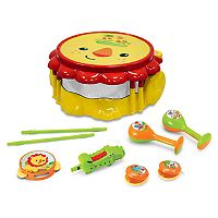 Fisher-Price Lion Musical Band Drum Set