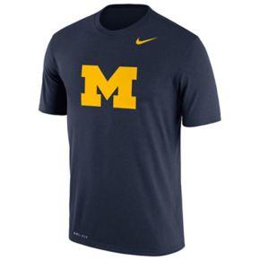 Men's Nike Michigan Wolverines Legend Dri-FIT Tee