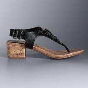 Simply Vera Vera Wang Darlene Women's Block Heel Sandals