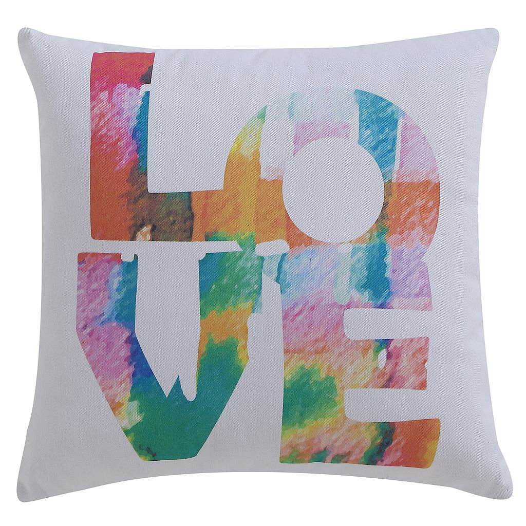 VCNY ''Love'' Throw Pillow