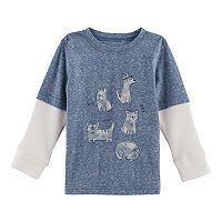 Baby Boy Jumping Beans® Mock Layer Graphic Tee
