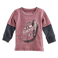 Disney / Pixar Cars Baby Boy Lightning McQueen Mock Layer Tee by Jumping Beans®