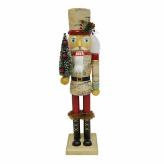 St. Nicholas Square® Lodge Nutcracker Christmas Floor Decor