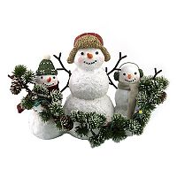 St. Nicholas Square® Light-Up Snowman Family Table Decor