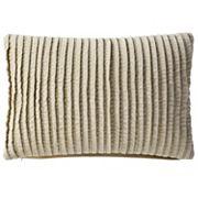 VCNY Home Velvet Pintuck Oblong Throw Pillow