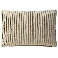 VCNY Home Velvet Pintuck Oblong Throw Pillow