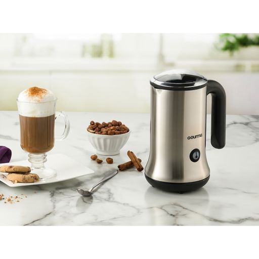 Gourmia Cordless Electric Milk Frother & Heater