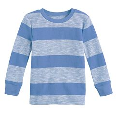 Baby Boy Jumping Beans® Thermal Striped Tee