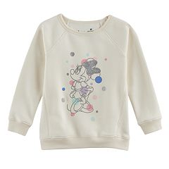 Disney's Minnie Mouse Girls 4-10 Glitter Pullover by Jumping Beans®
