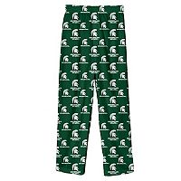 Boys 8-20 Michigan State Spartans Team Logo Lounge Pants