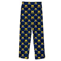Boys 8-20 Michigan Wolverines Team Logo Lounge Pants