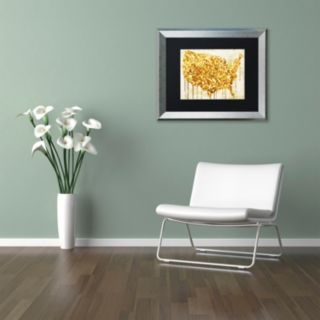 Trademark Fine Art American Dream IV Framed Wall Art