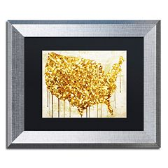 Trademark Fine Art American Dream IV Framed Wall Art