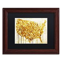 Trademark Fine Art American Dream IV Traditional Framed Wall Art