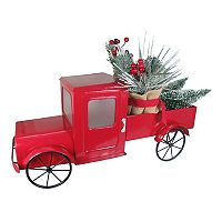 St. Nicholas Square® Light-Up Red Truck Floor Decor