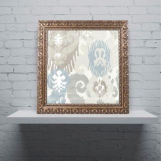 Trademark Fine Art Beach Curry I Ornate Framed Wall Art