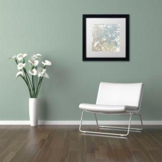 Trademark Fine Art Beach Curry II Black Framed Wall Art