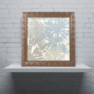Trademark Fine Art Beach Curry II Ornate Framed Wall Art