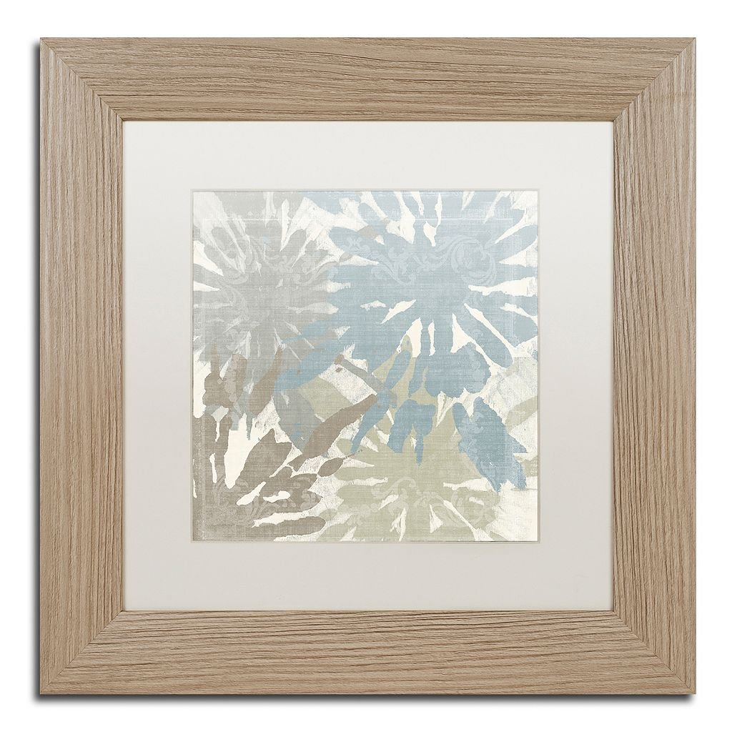 Trademark Fine Art Beach Curry II Distressed Framed Wall Art