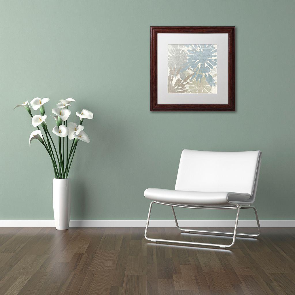 Trademark Fine Art Beach Curry II Traditional Framed Wall Art