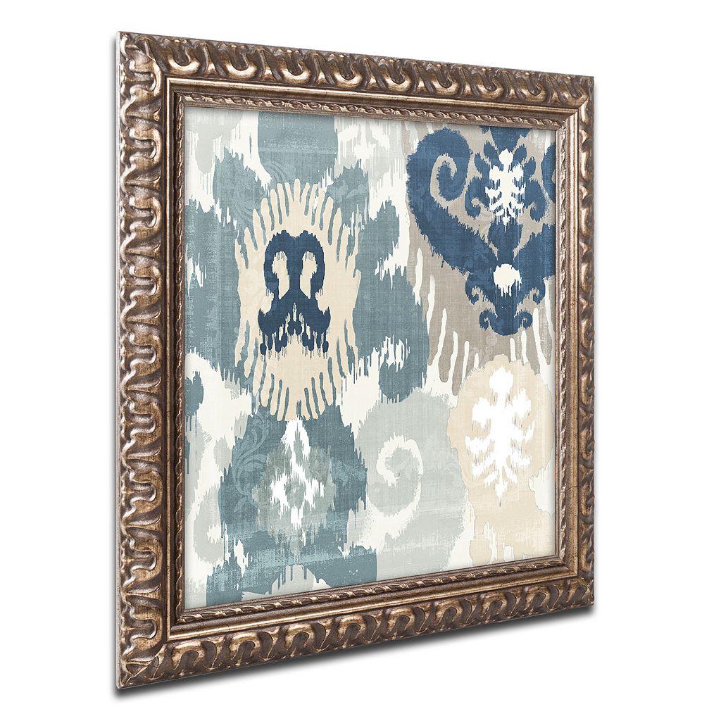 Trademark Fine Art Beach Curry III Ornate Framed Wall Art
