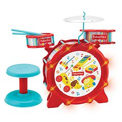 Fisher-Price Big Bang Drum Set With Lights